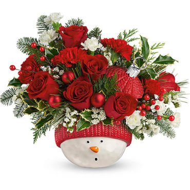 Snowman Ornament Bouquet 2020