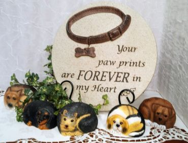 Garden Memorial Pet Stepping Stone