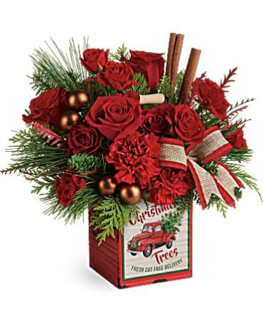 Merry Christmas Vintage Bouquet