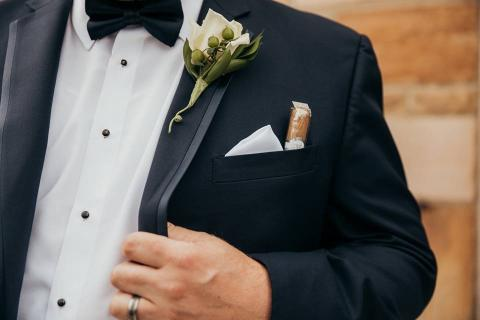 Groom\'s Boutonniere