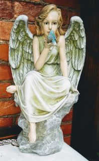 Angel With Bluebird
